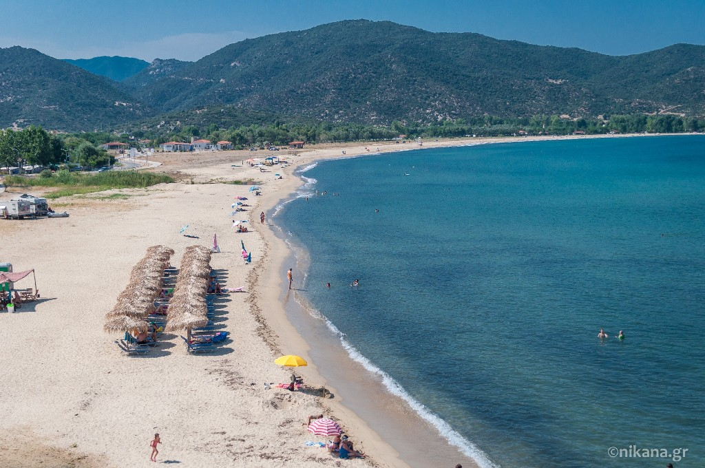 sykia beach sithonia