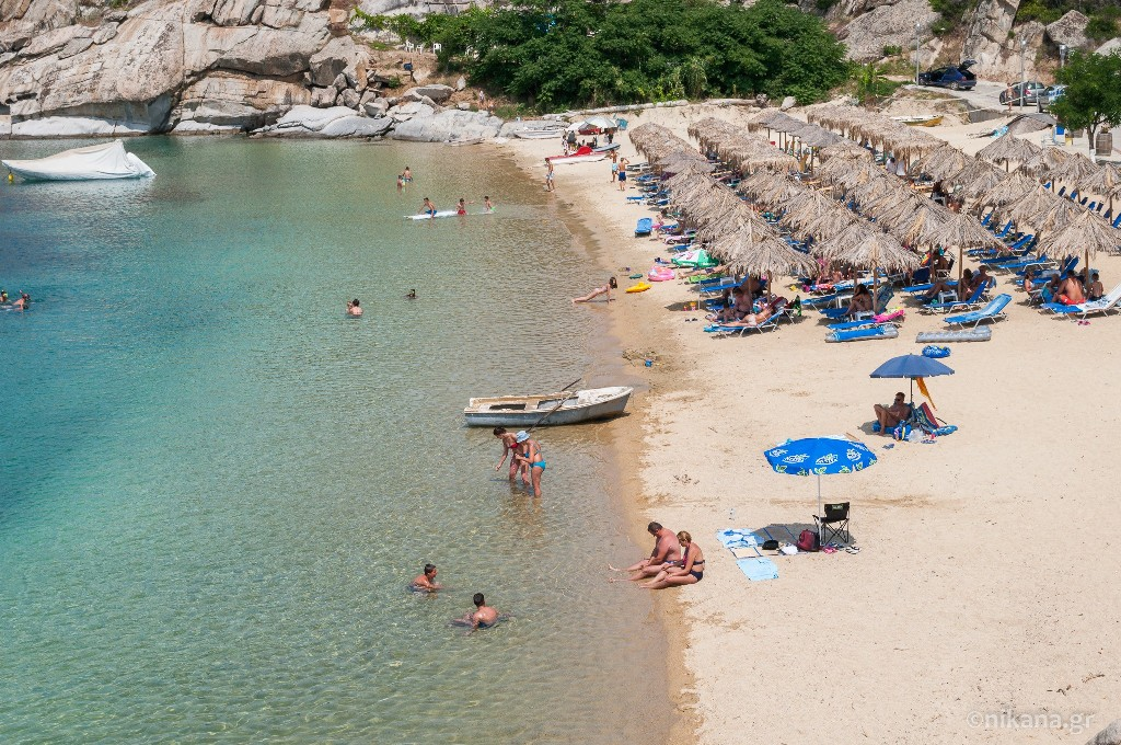 tourkolimnionas beach sithonia