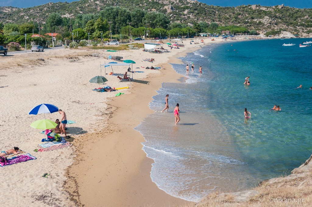 valti beach sithonia
