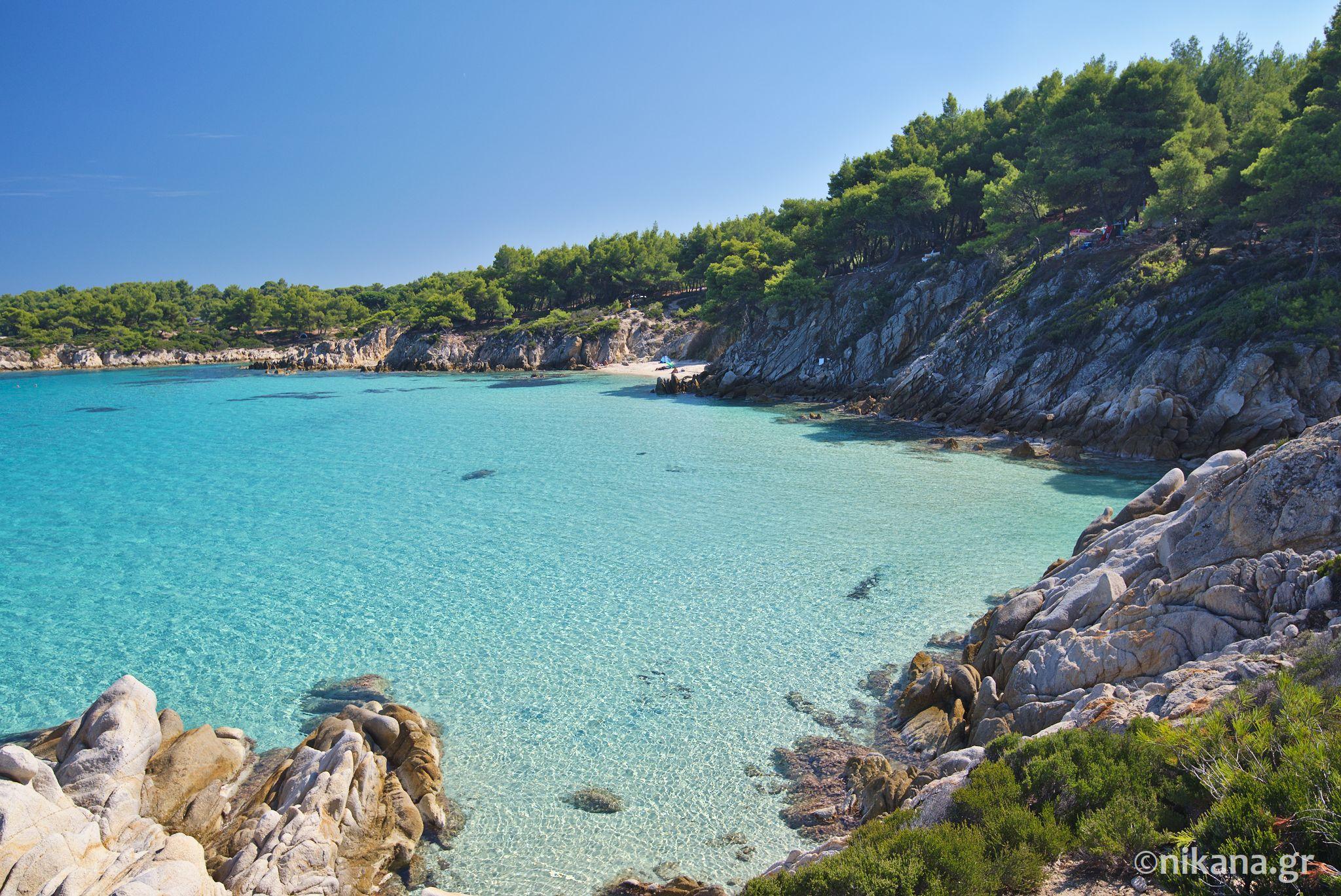 Mega Portokali Beach - Sithonia tourist guide - Nikana.gr