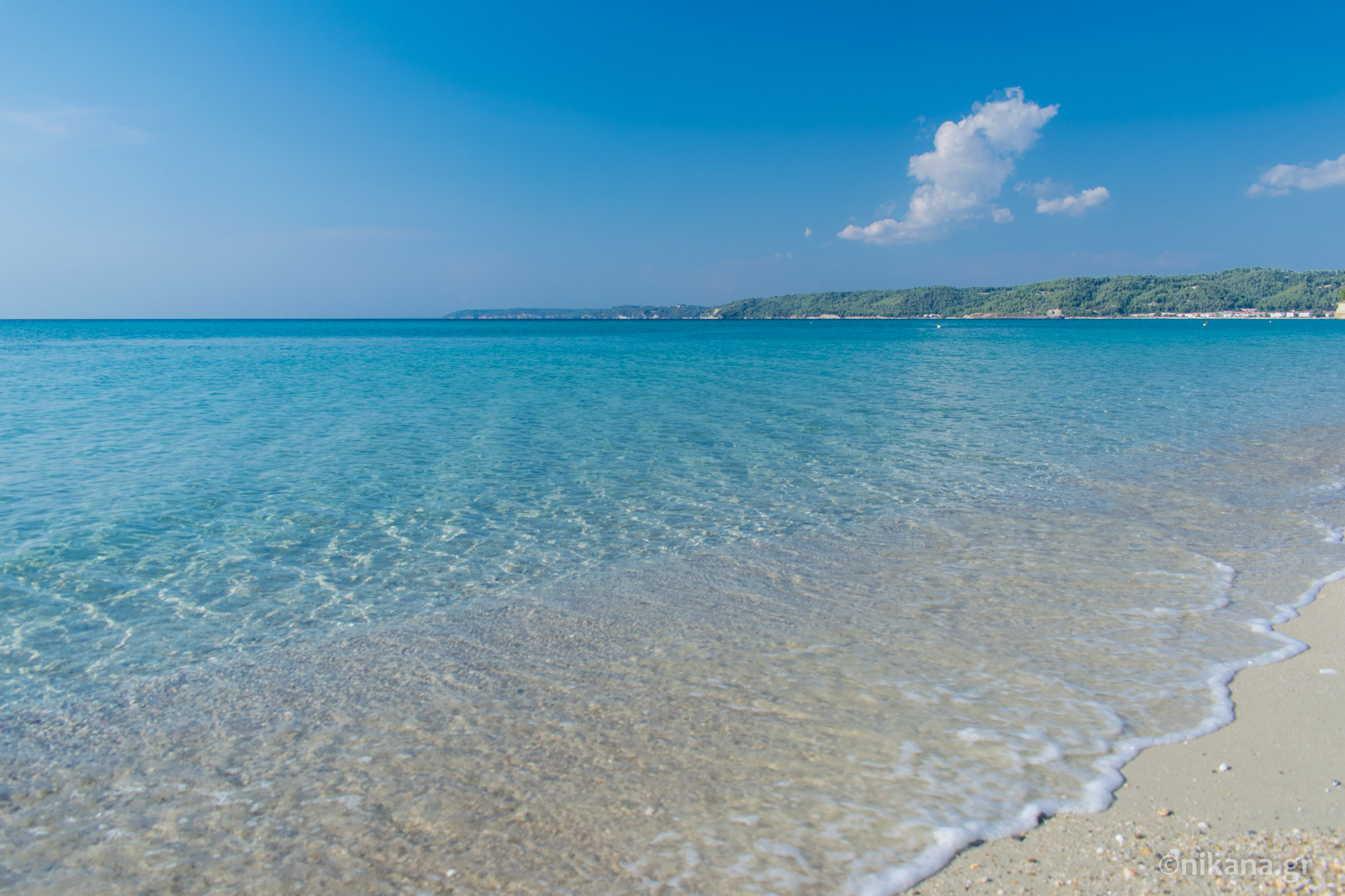 Aigeopelagitika beach - Kassandra tourist guide - Nikana.gr