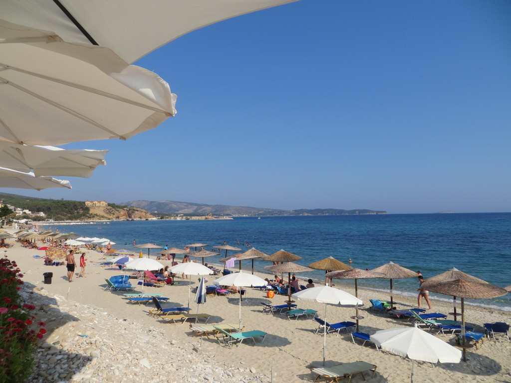 limenaria city beach thassos
