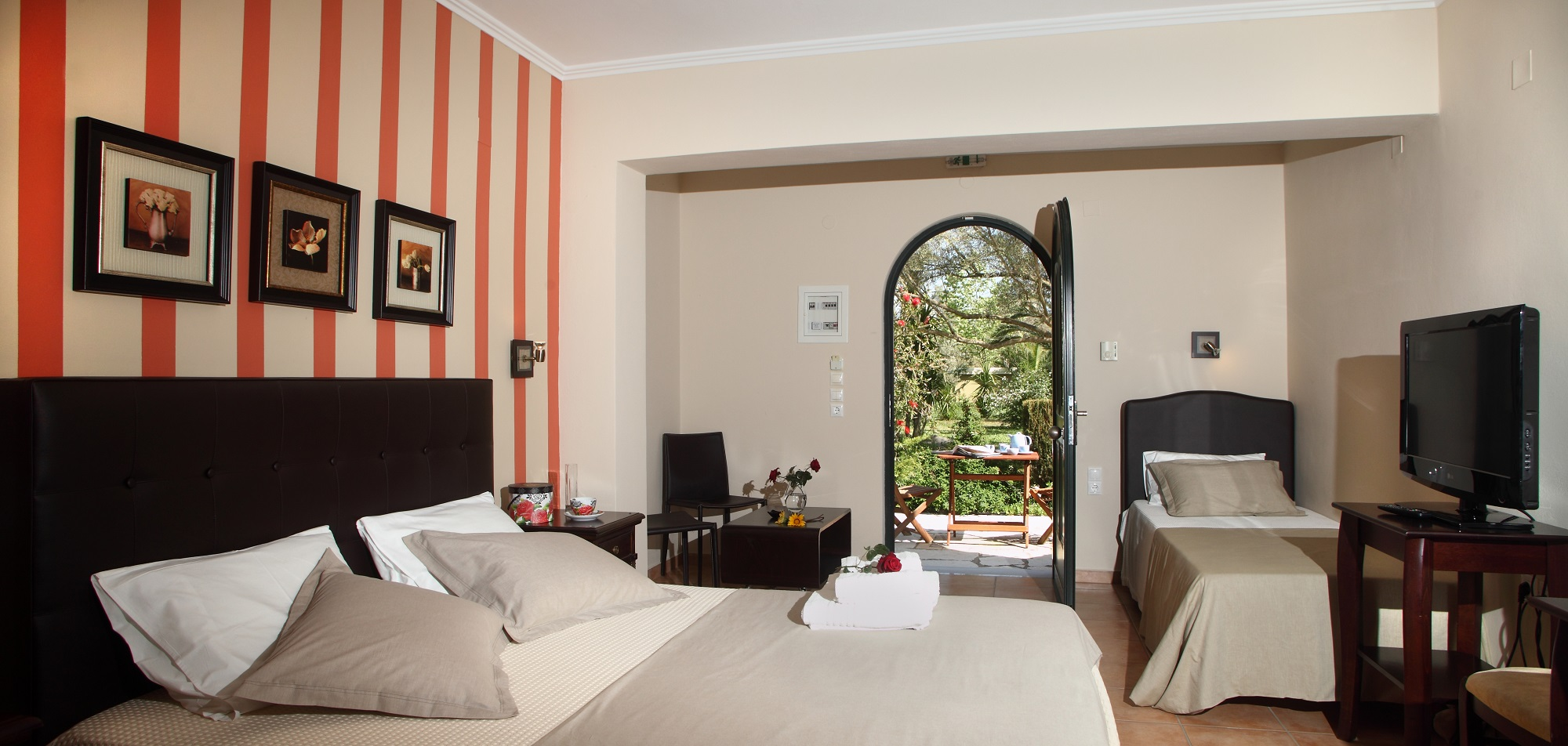 anthias garden apartments lefkas lefkada 3 bed studio 5