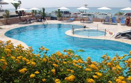 haris hotel apartments epirus vrachos beach 1