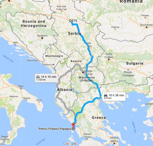 predejane mapa Trip to Lefkada by car   Lefkada tourist guide   Nikana.gr predejane mapa
