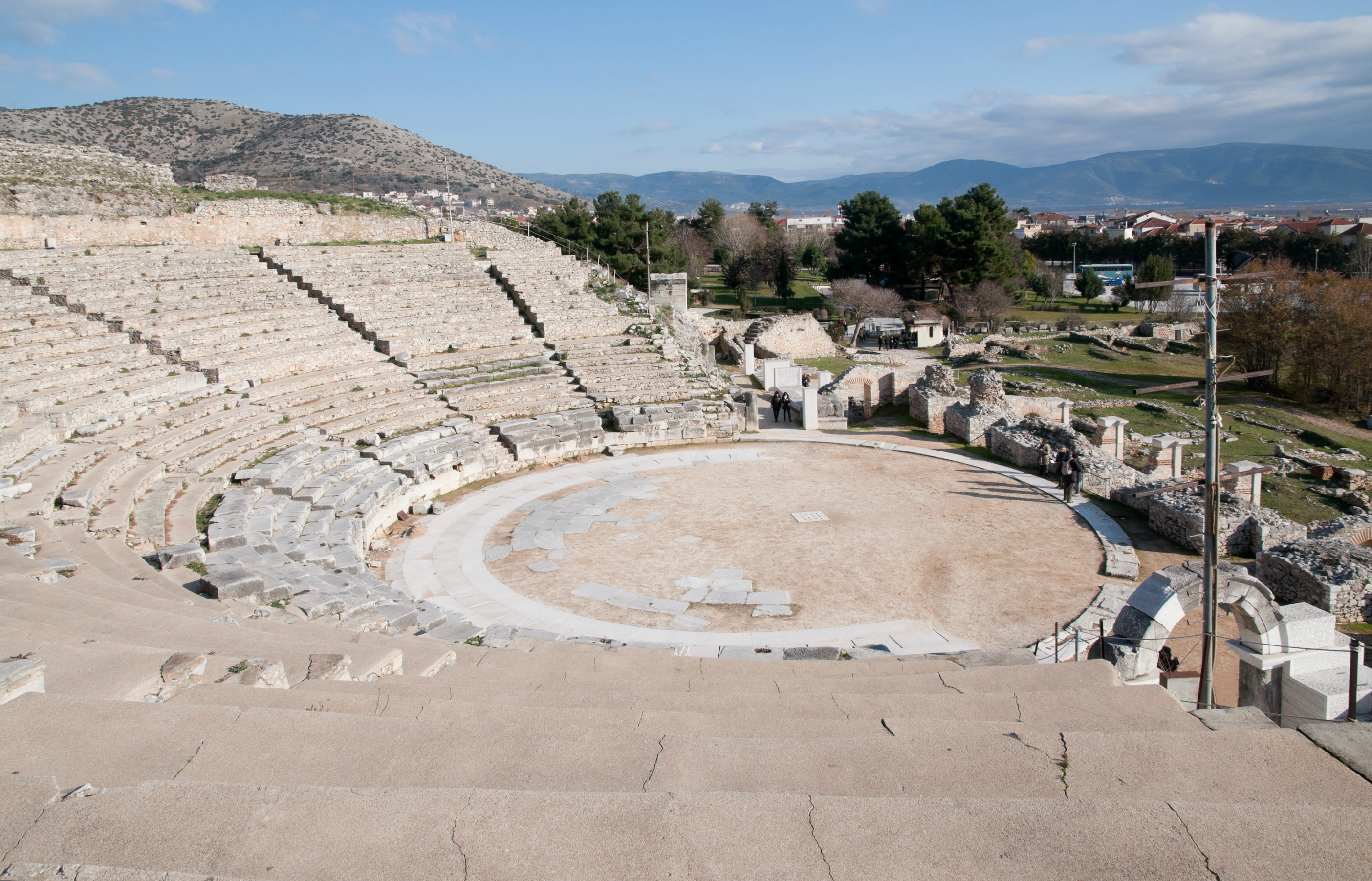 philippi greece theatre