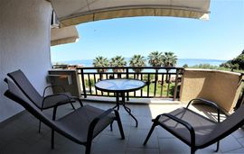 karvounoskala pension stratoni athos 3 bed studio sea view 1