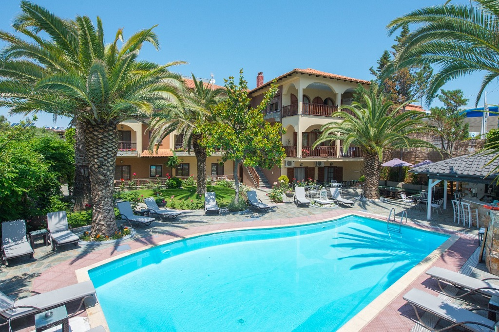 Pipini Villa Limenas Thassos Accommodation Nikanagr