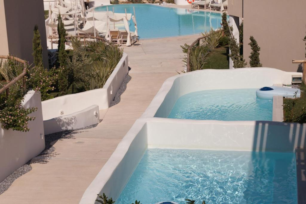 crystal waters suites nikiana lefkada 5 bed deluxe suite private pool garden view 1