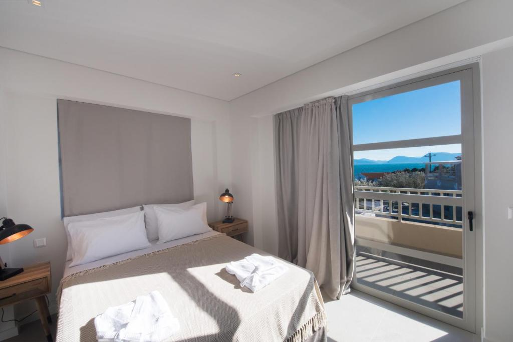 crystal waters suites nikiana lefkada 5 bed penthouse suite sea view 2