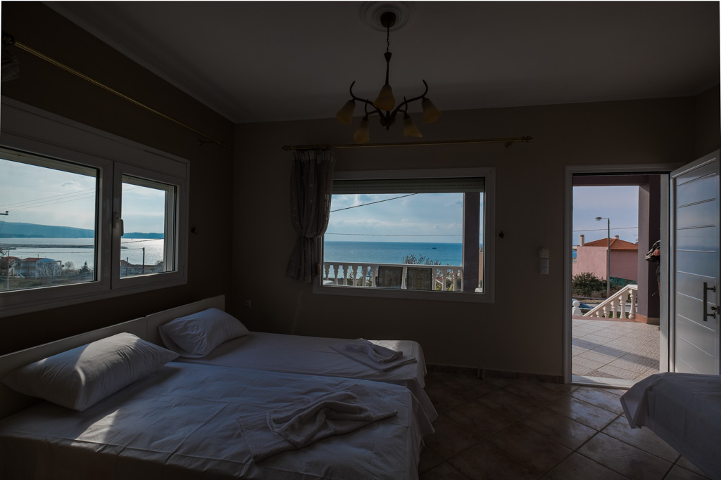antonis rooms limenaria thassos 3 bed std front  (4)