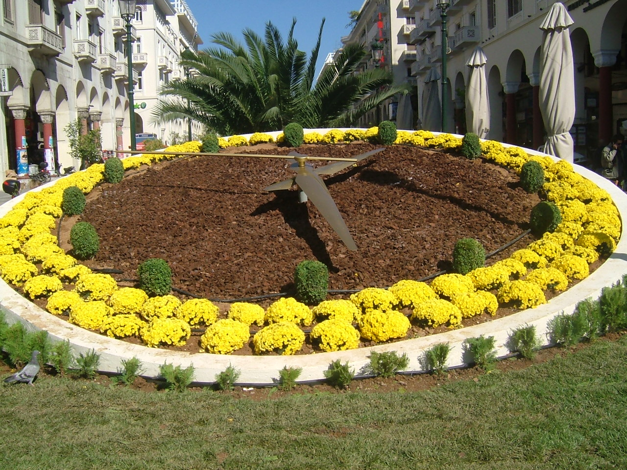 floral clock thessaloniki (2)