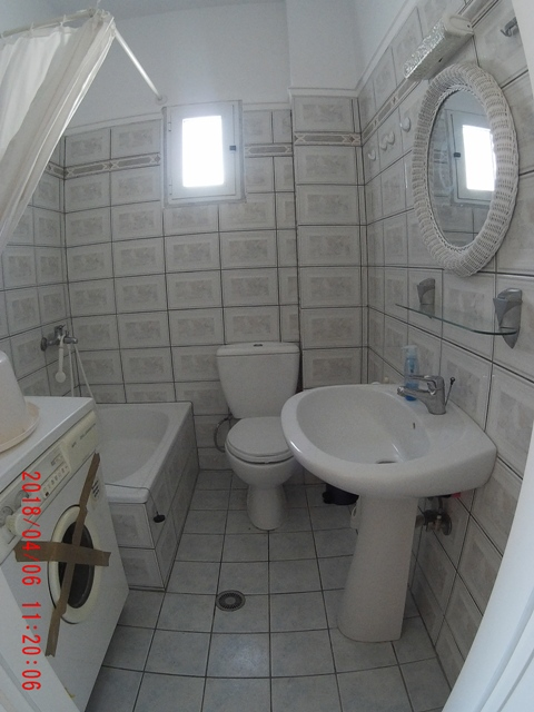 afrodite apartment nea peramos kavala 2nd floor bathroom