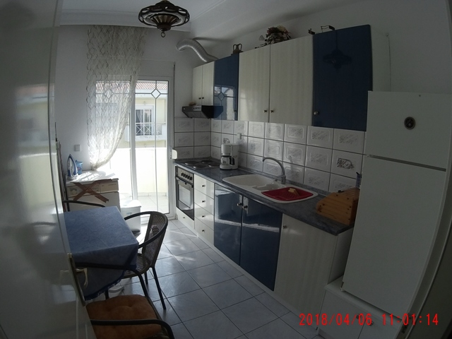 afrodite apartment nea peramos kavala 2nd floor kitchen
