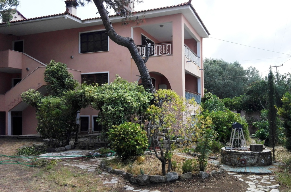 the pink oleander house toroni sithonia 5
