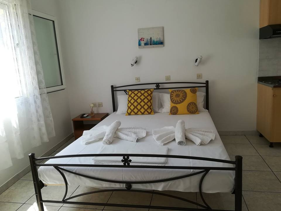 stavros and sotiria rooms potos thassos 2 bed studio first floor 4