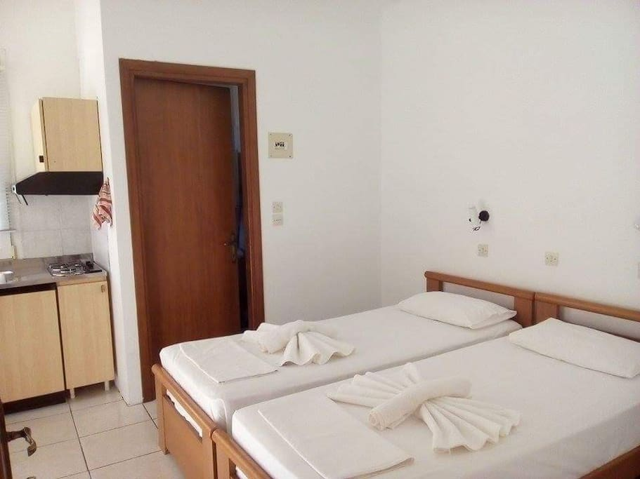 stavros and sotiria rooms potos thassos 2 bed studio first floor 8