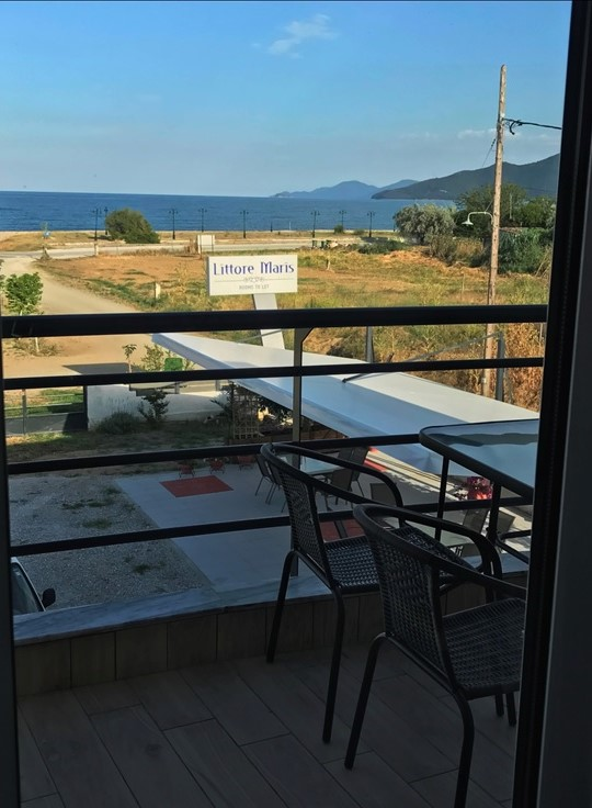 littore maris rooms paralia vrasna thessaloniki 4 bed studio second floor second building 1