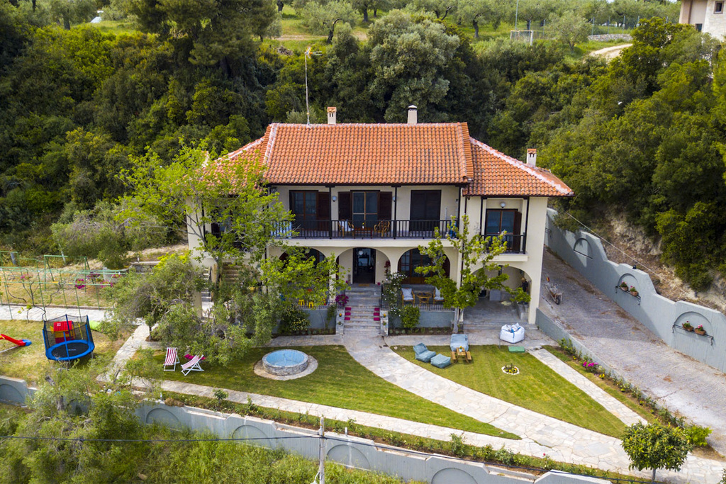 willow sea view villa kriopigi kassandra 2