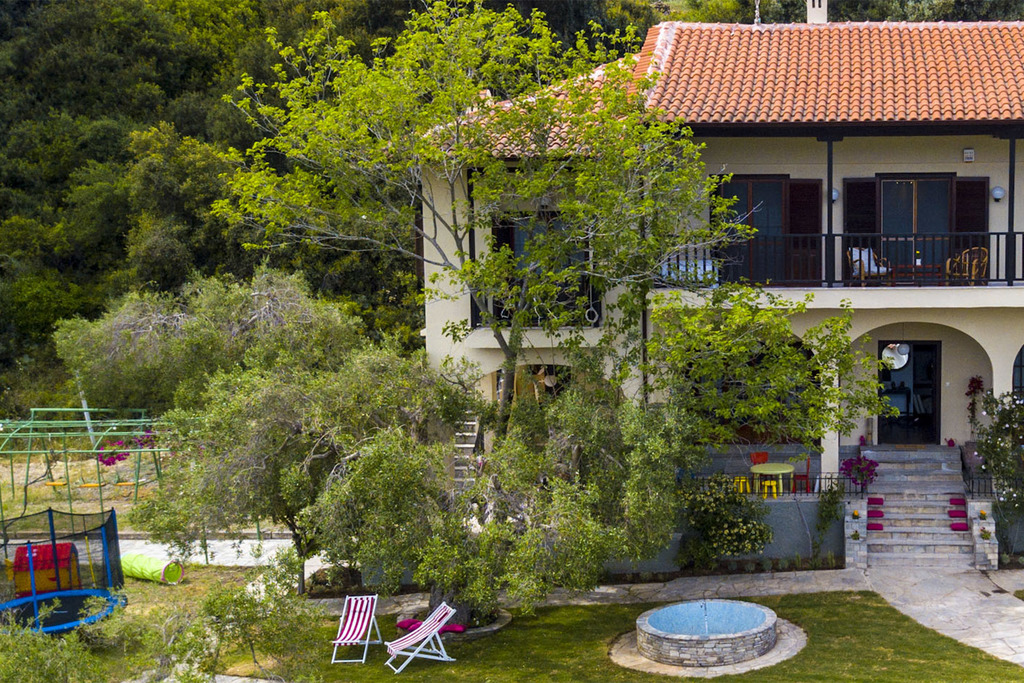 willow sea view villa kriopigi kassandra 3