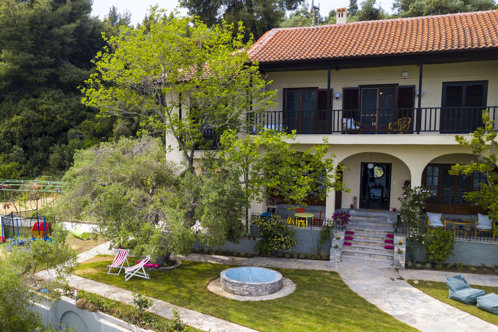 willow sea view villa kriopigi kassandra 4