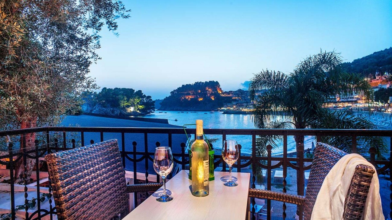 rossa villa boutique beach resort parga epirus deluxe double sea view 1