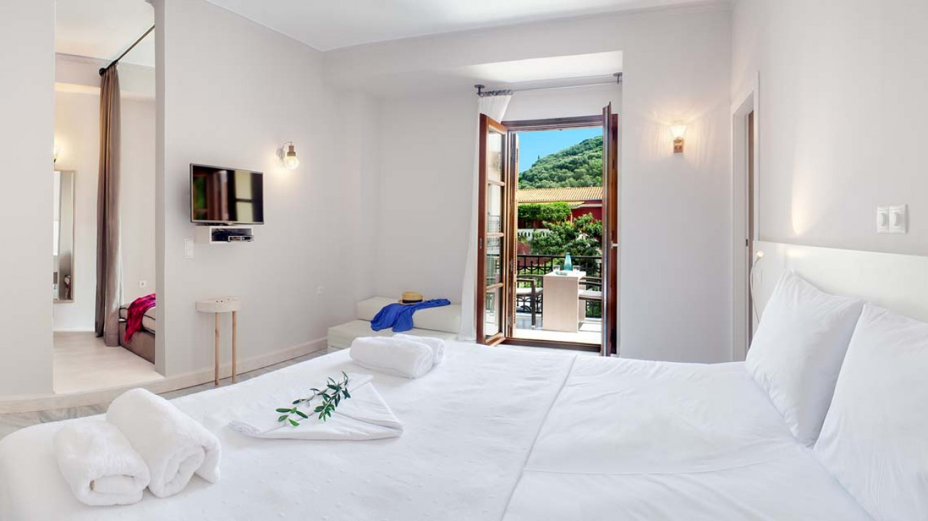 rossa villa boutique beach resort parga epirus garden view suite 5