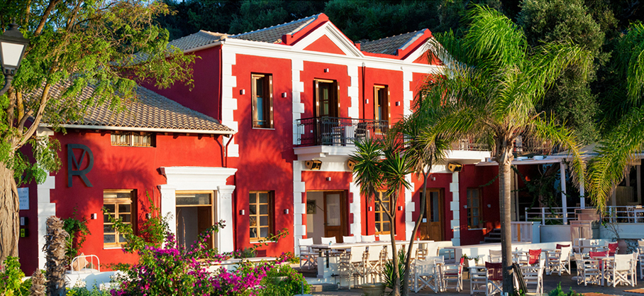 rossa villa boutique beach resort parga epirus main residence