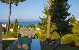 plagia shared pool maisonettes hanioti kassandra 5 bed maisonette sea view 2