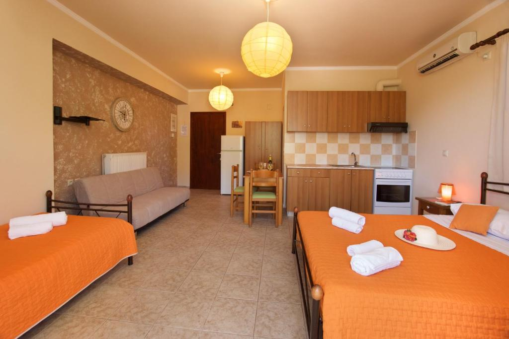 minas apartments divarata kefalonia 3 bed studio 9