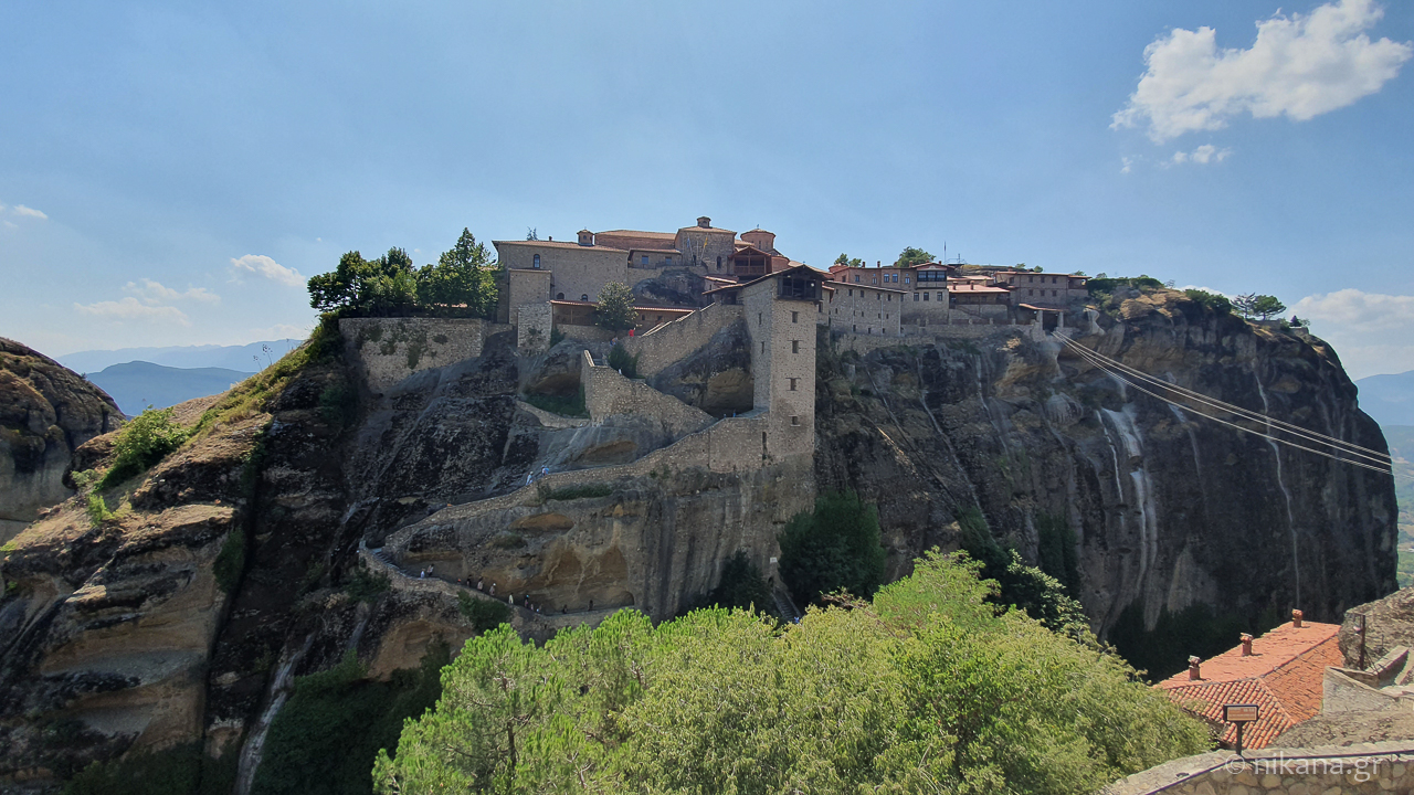 the holy monastery of meteora 27