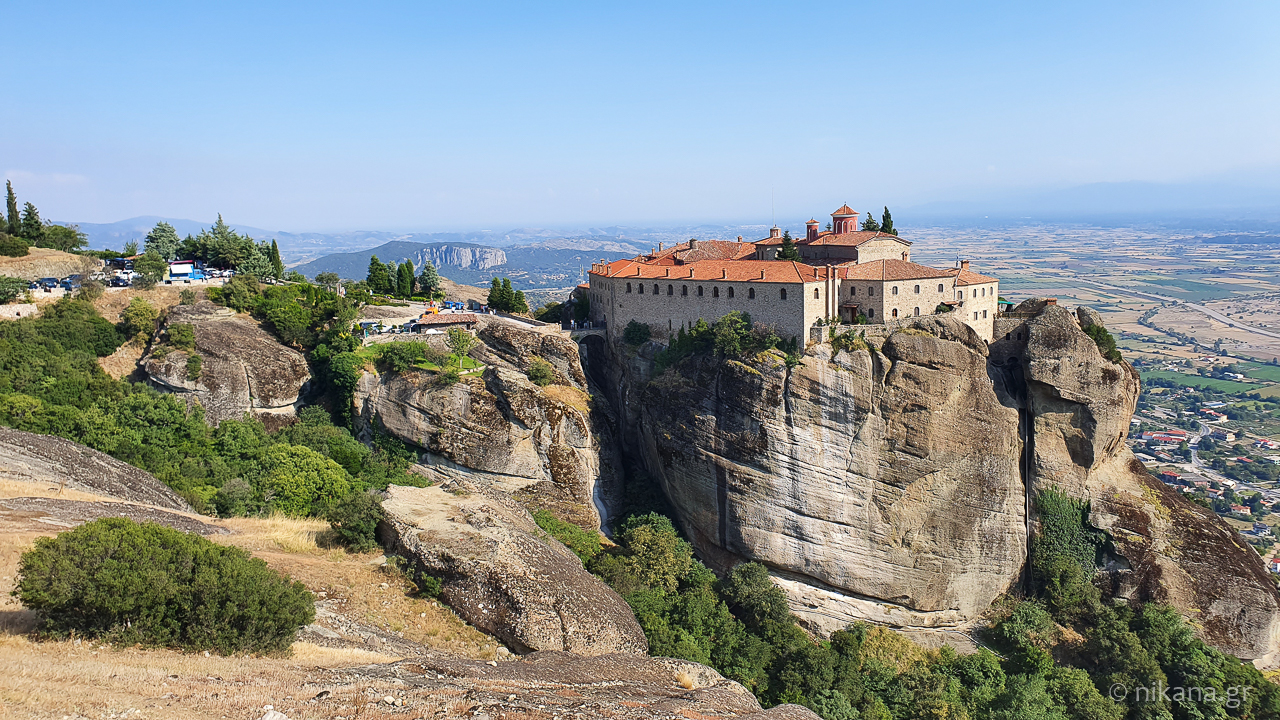 the holy monastery of meteora 44