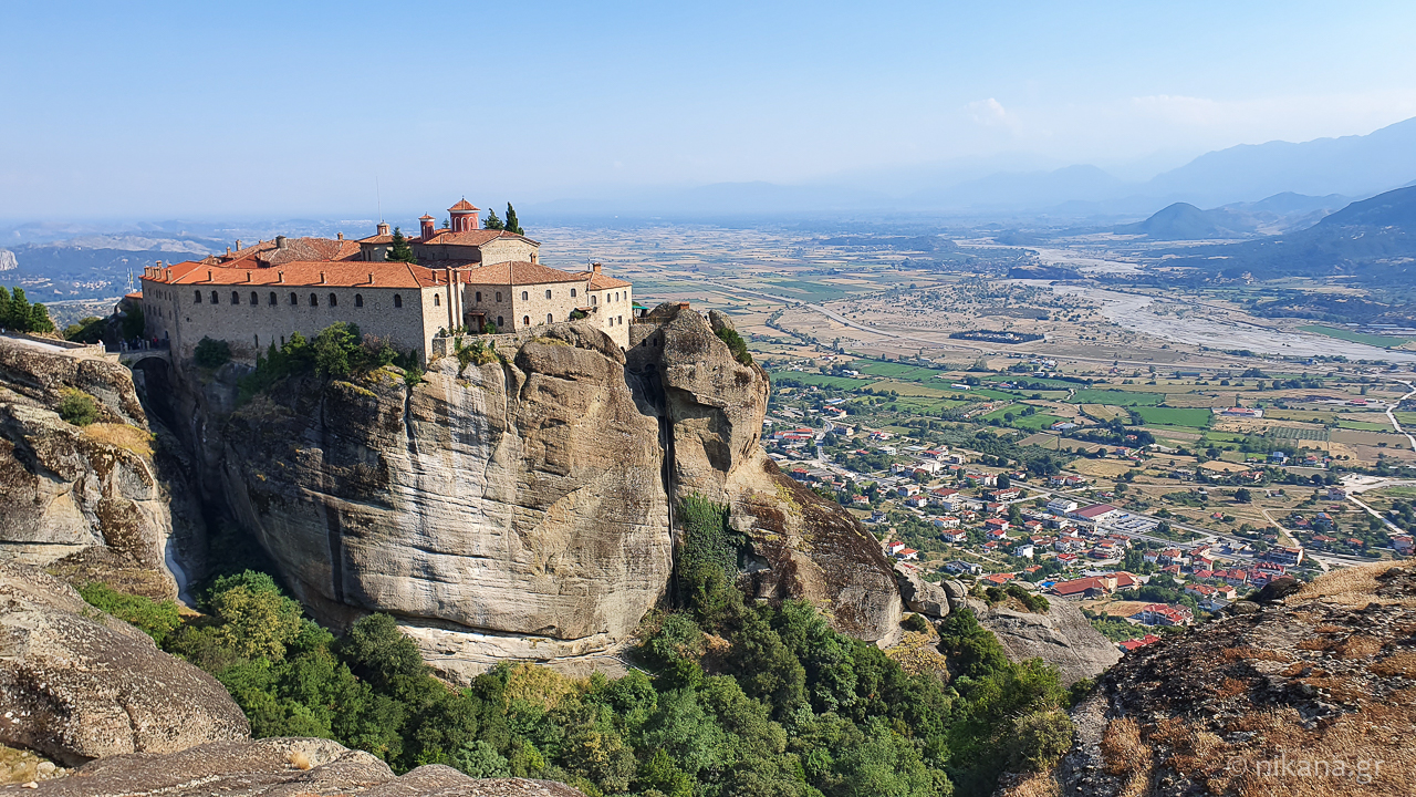 the holy monastery of meteora 45