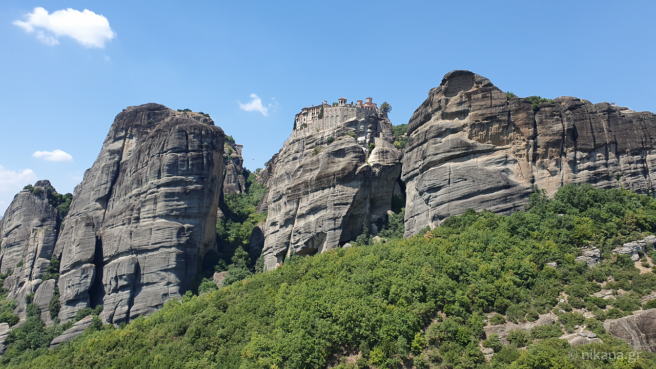 the holy monastery of meteora 5