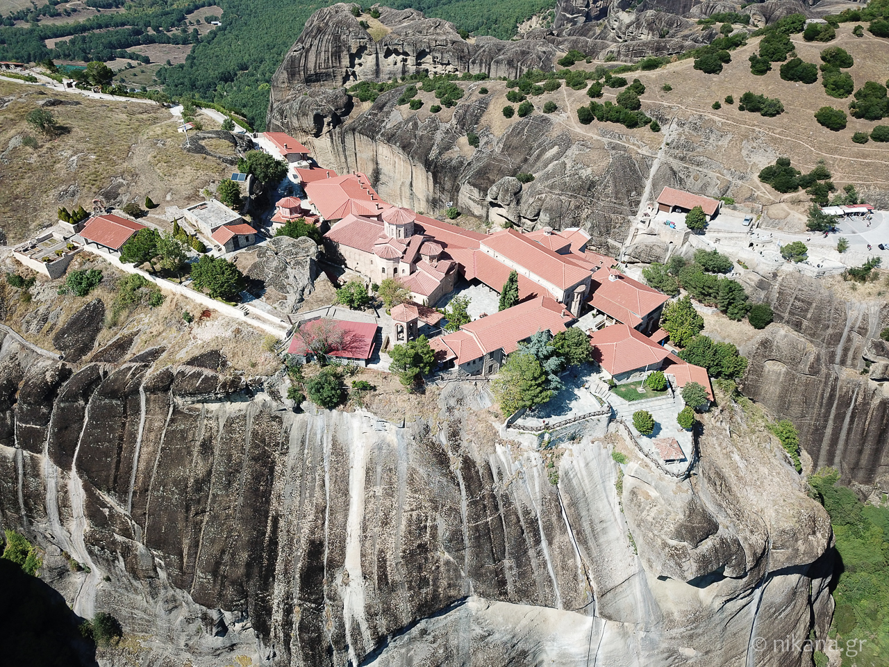 the holy monastery of meteora 65