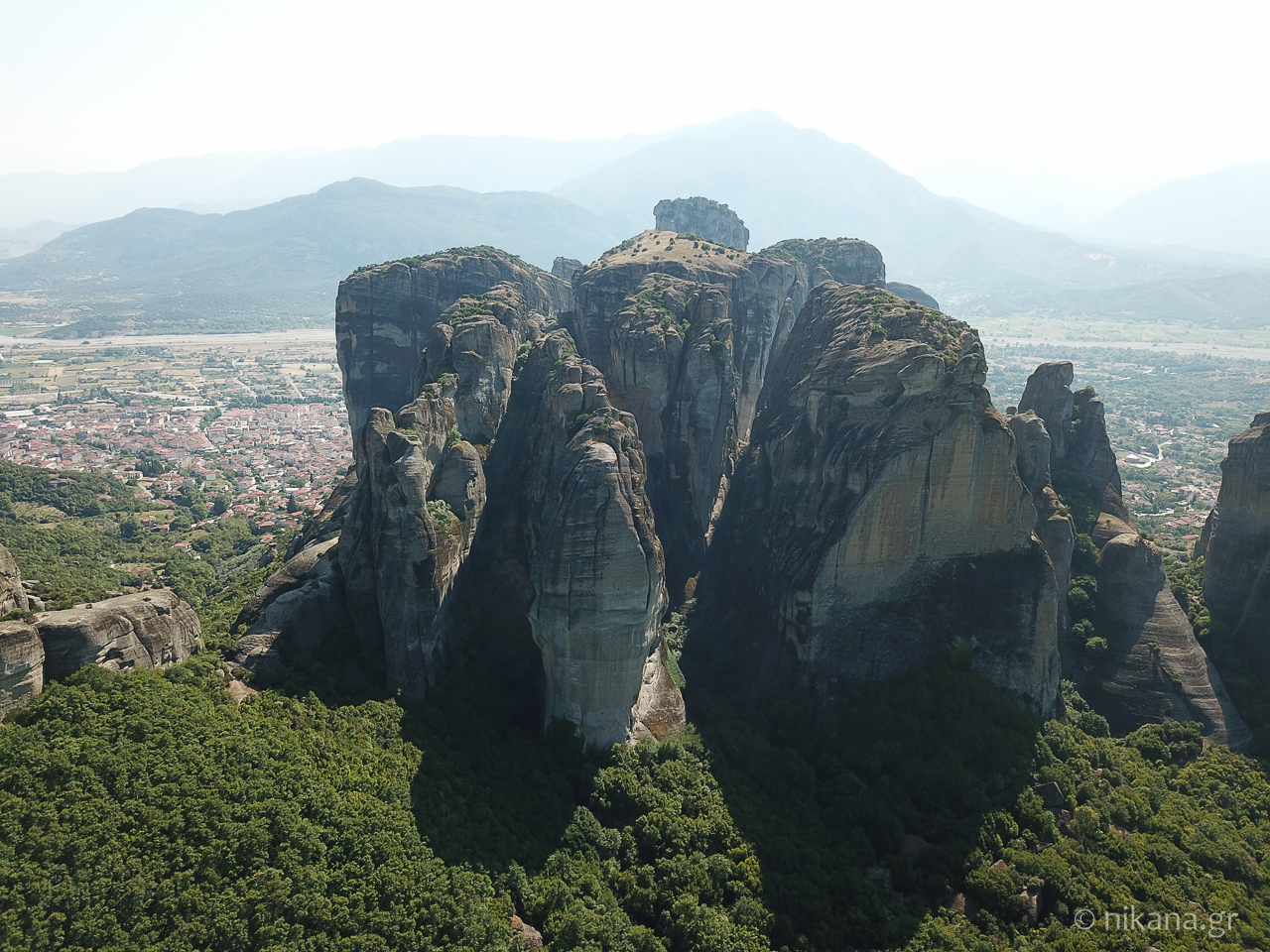 the holy monastery of meteora 68