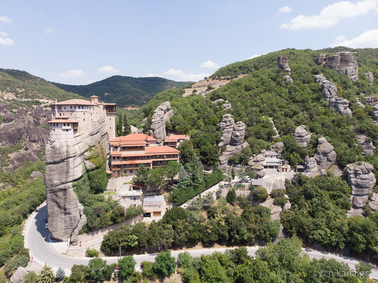 the holy monastery of meteora 72