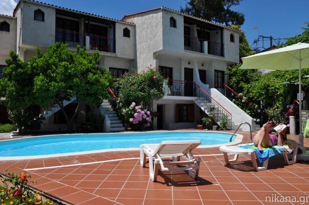 Kipos Holiday Apartments Limenas Thassos Accommodation
