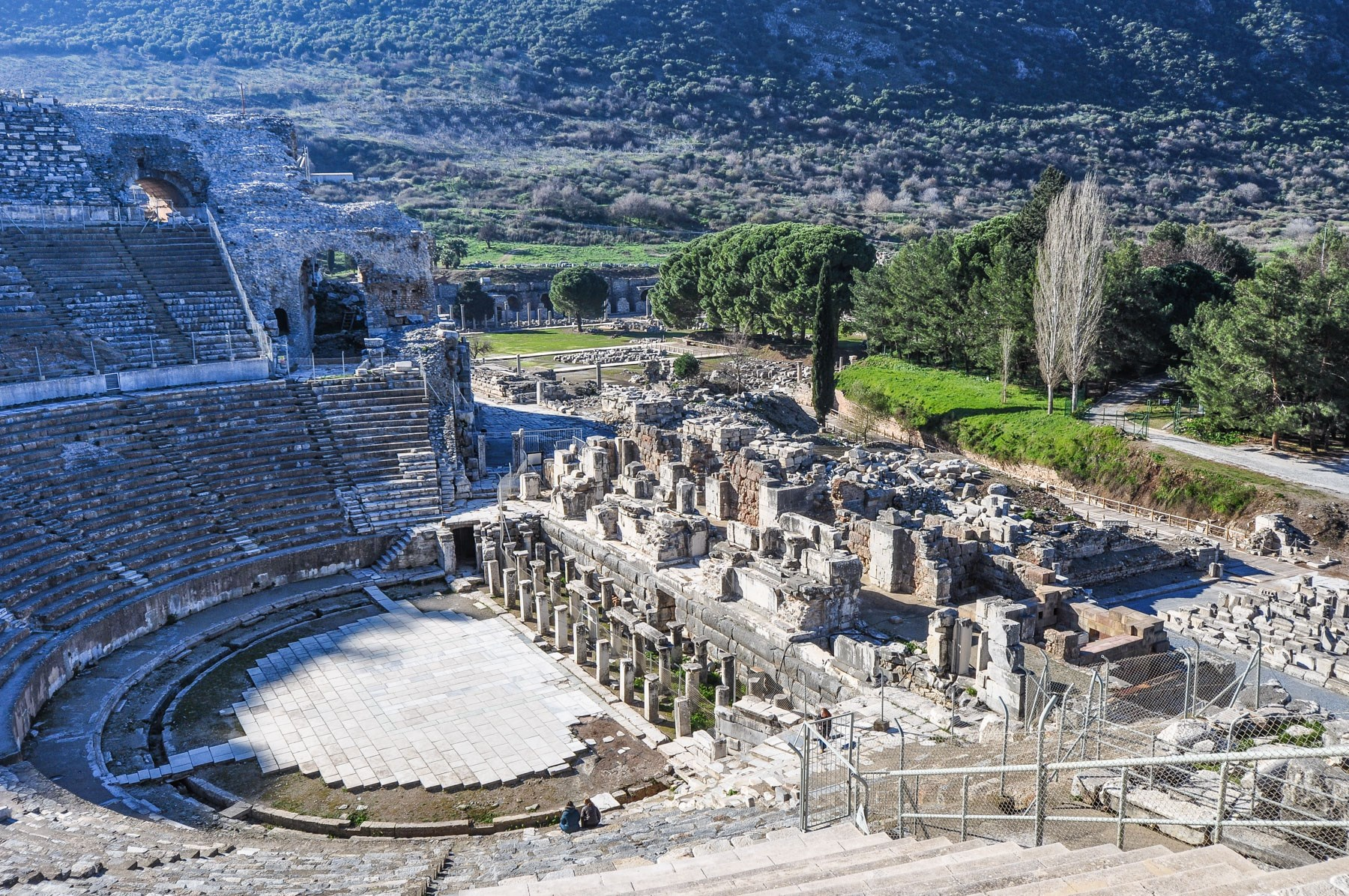 archaeological site of philippi greece