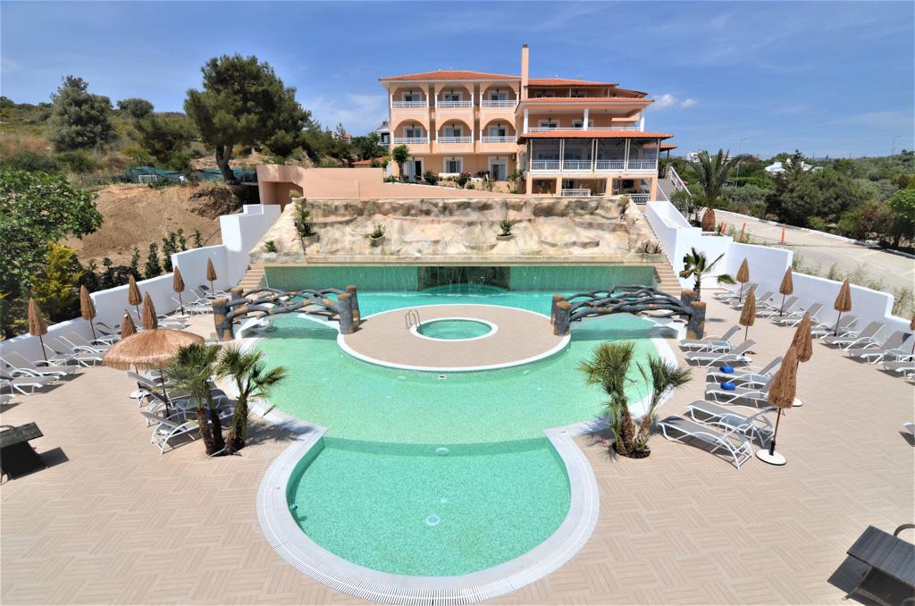 Grand Beach Hotel Limenaria Thassos Accommodation Nikana Gr