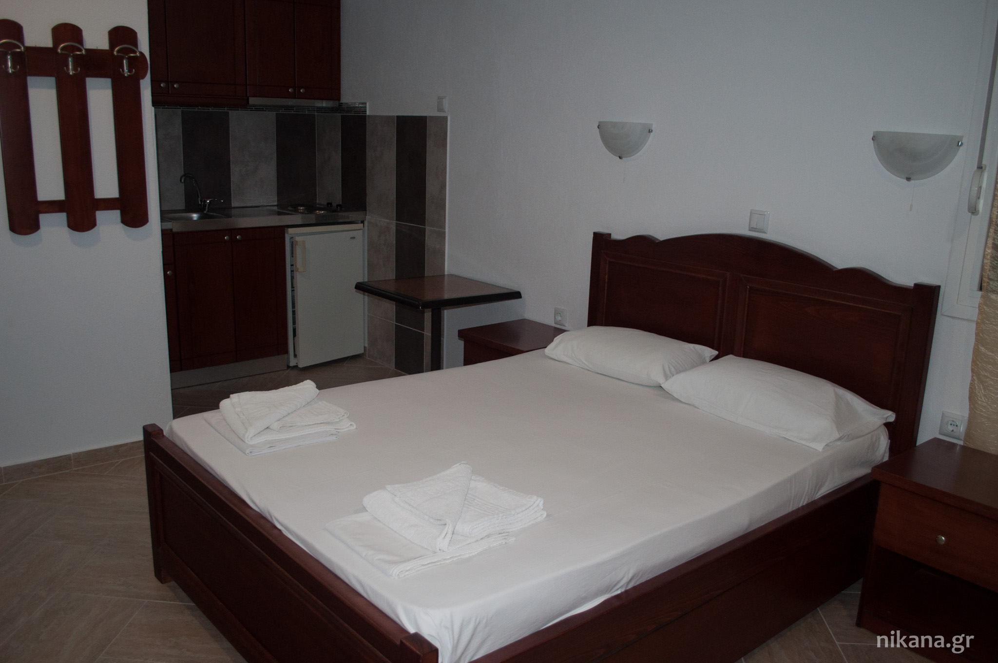 sunset studios 2 bed studio ground floor potos thassos  (1)