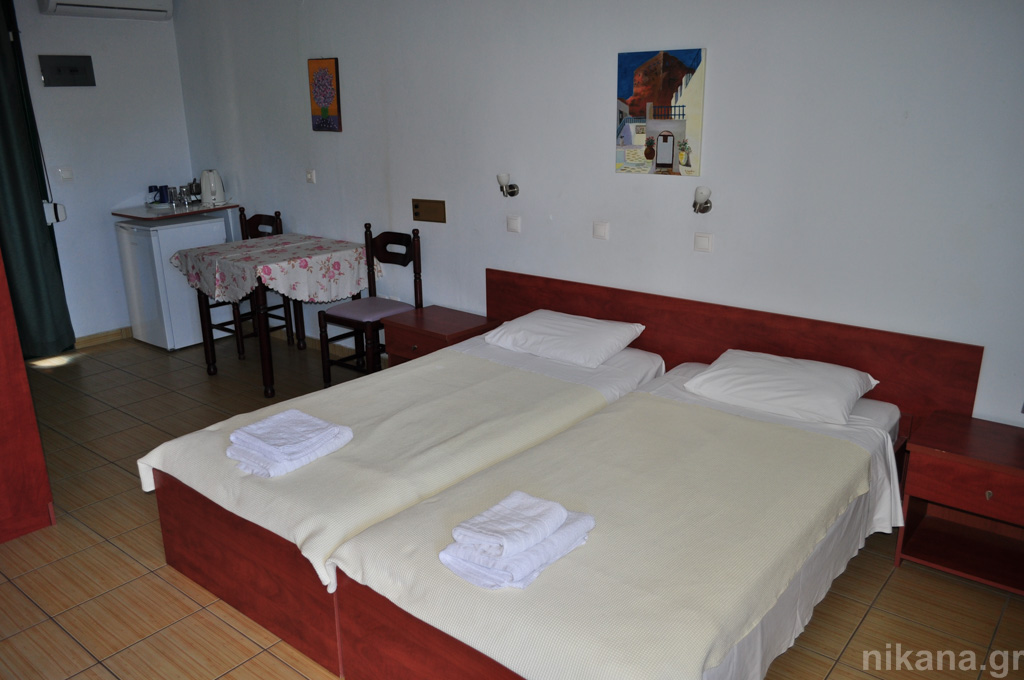 dolphins apartments and rooms limenas 2 bed room #103 high ground floor  (3)