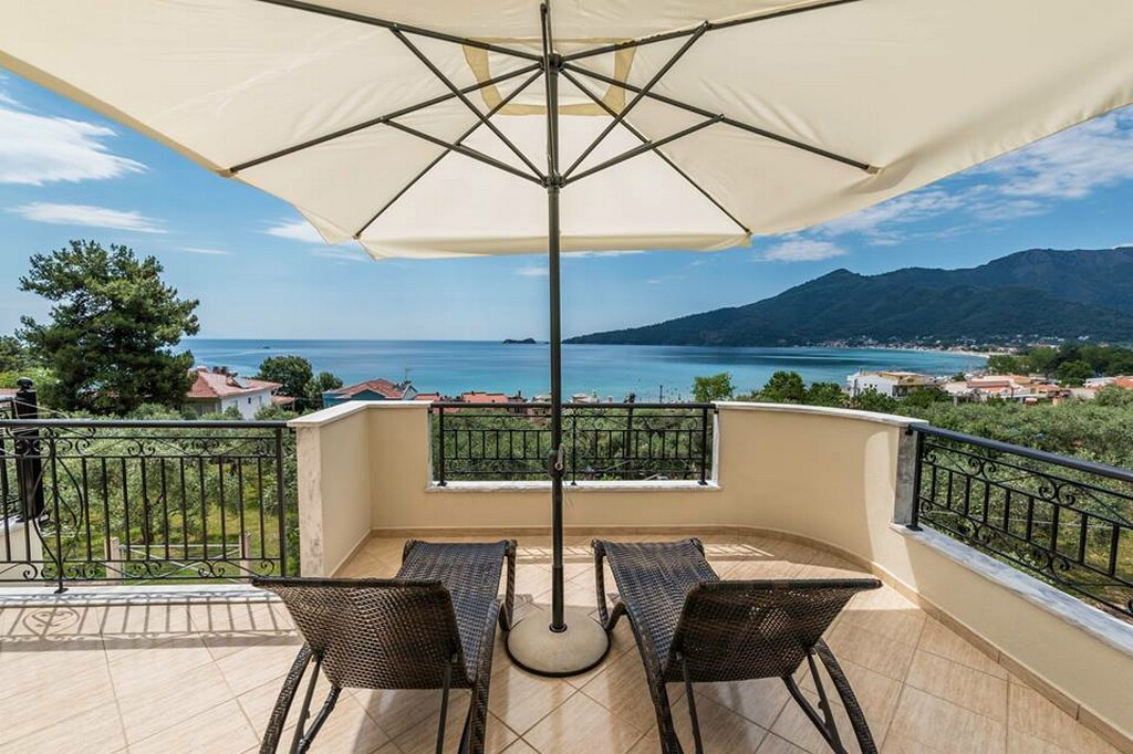 Anna Apartments Golden Beach Thassos Accommodation