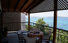 katerina pansion ouranopolis athos 3 bed studio sea view 1