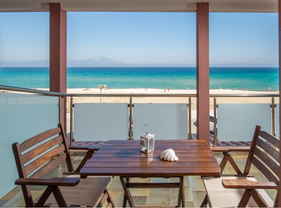 stavros rooms and apartments sarti sithonia 4 bed studio sea view
