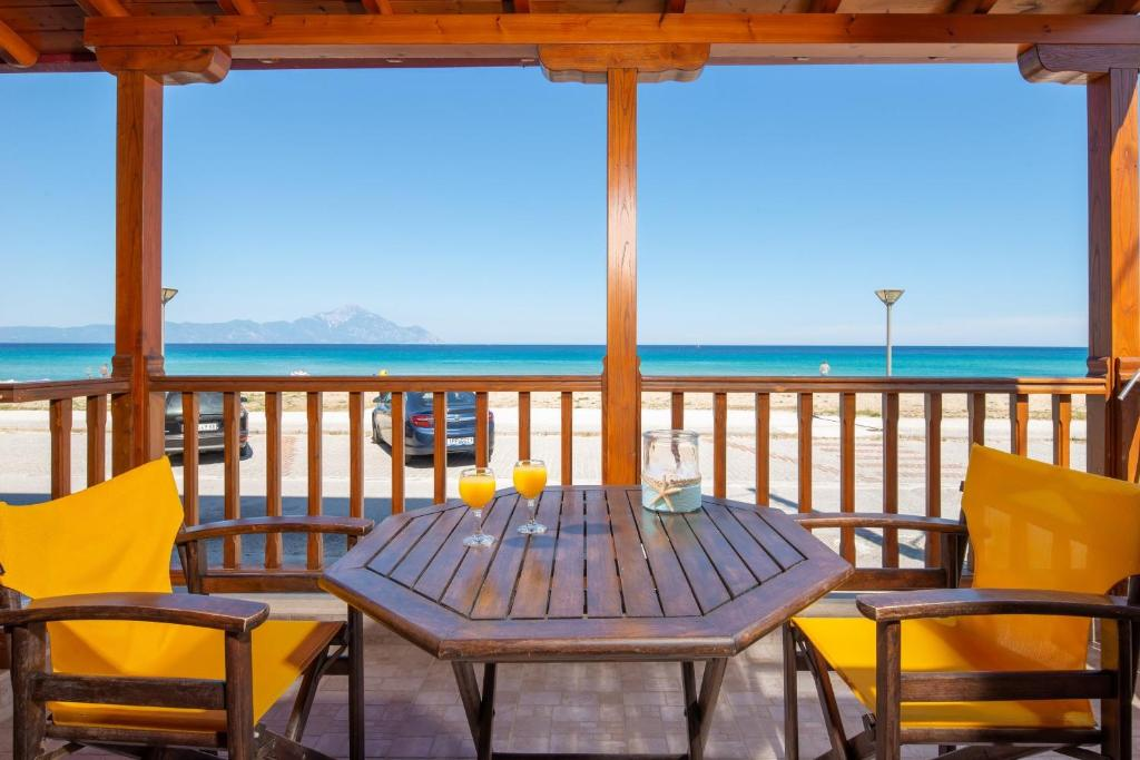stavros rooms and apartments sarti sithonia 4 bed studio sea view 6