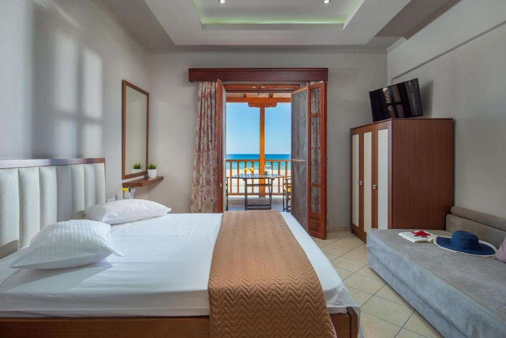 stavros rooms and apartments sarti sithonia 4 bed studio sea view 7