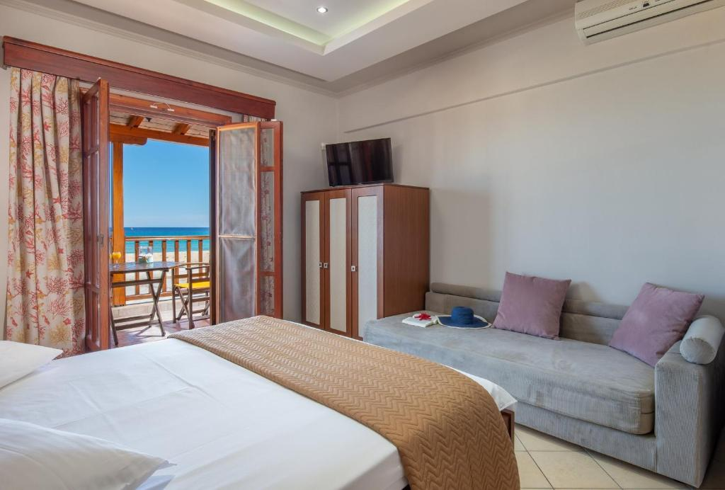 stavros rooms and apartments sarti sithonia 4 bed studio sea view 8