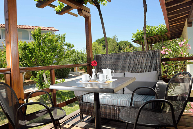 antigoni beach resort ormos panagias sithonia triple room garden view 1