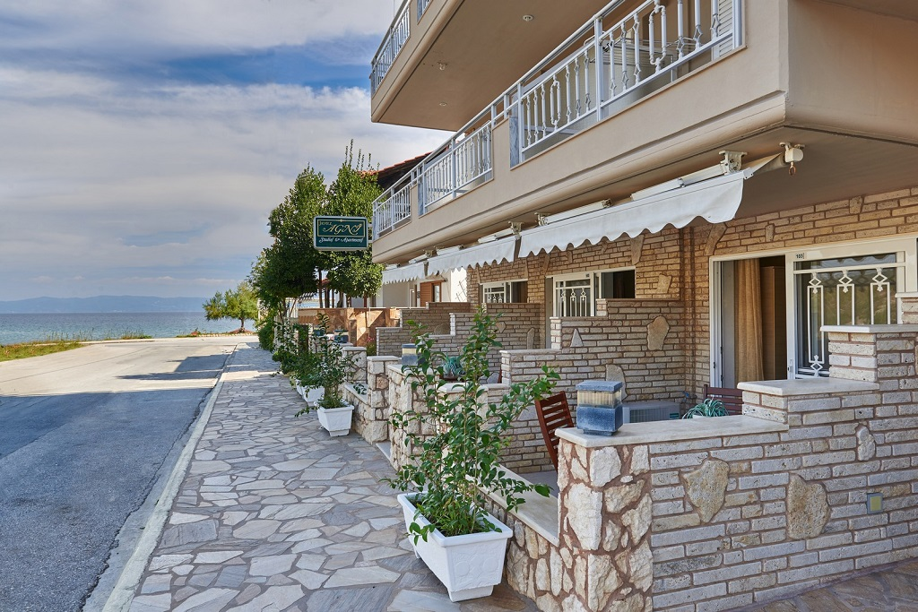 agni hotel on the beach sarti sithonia 2 3 bed studio ground floor 2 3 bed studio ground floor 1